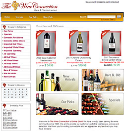 The Wine Connection e-store